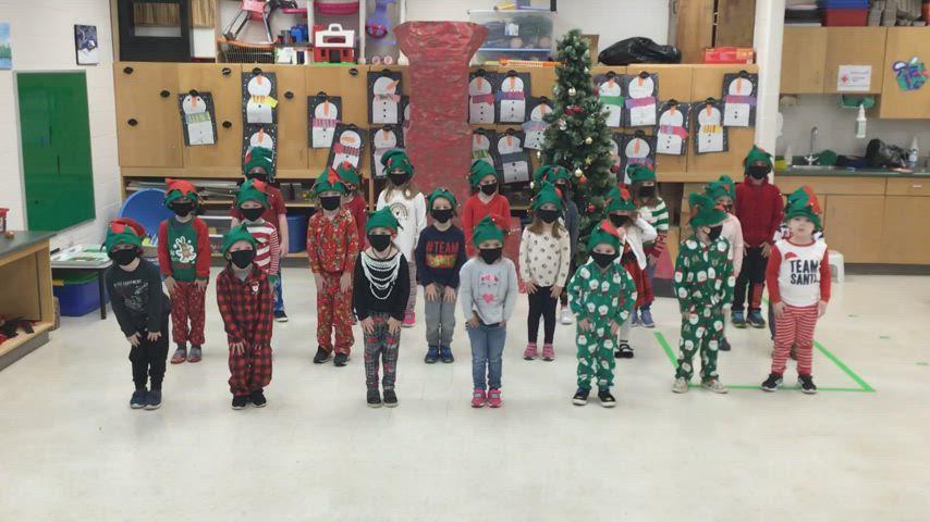 Mrs. Mazariegos's and Mrs. Schleihauf's Students' Virtual Christmas Concert